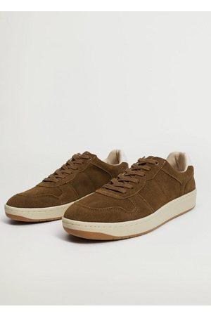 MANGO Men Sneakers - Retro suede sneaker
