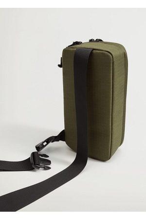 MANGO Canvas crossbody bag