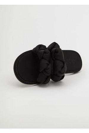 MANGO Women Sandals - Straps knots sandals