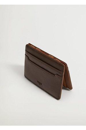 MANGO Men Wallets - Magic safiano card holder