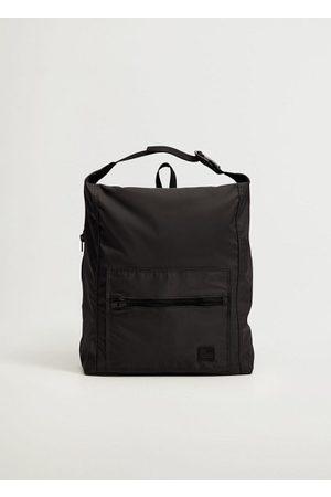 MANGO Men Rucksacks - Nylon backpack
