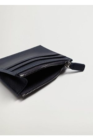 MANGO Men Wallets - Saffiano-effect cardholder