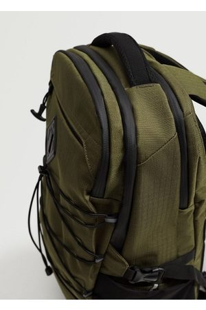 MANGO Multi-functional canvas backpack