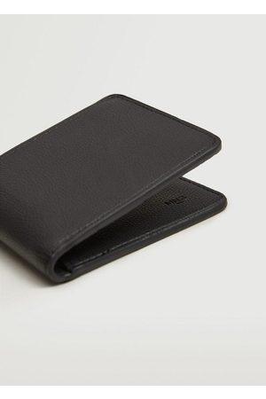 MANGO Faux-leather wallet