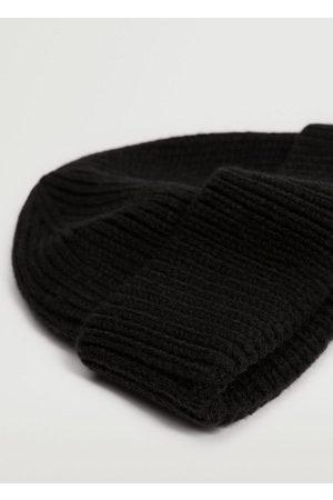 MANGO Men Beanies - Knit beanie