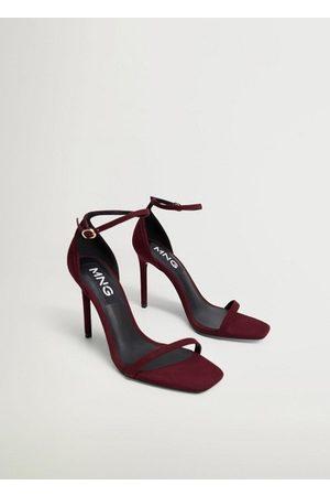 MANGO Women Sandals - Ankle-cuff sandals