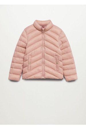 MANGO Girls Jackets - Pocket quilted jacket