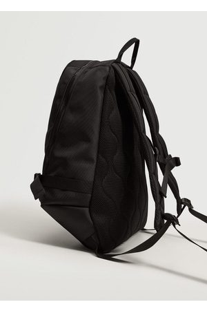 MANGO Canvas mixed backpack