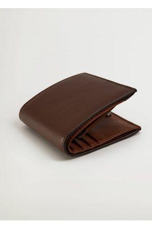 MANGO Saffiano-effect wallet