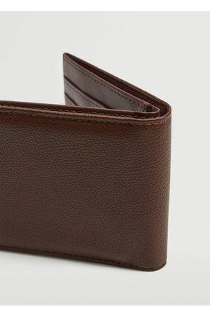 MANGO Men Wallets - Pebbled wallet