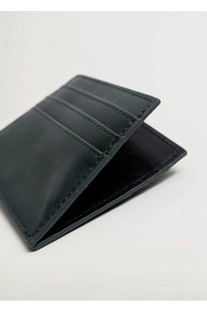 MANGO Men Wallets - Faux leather cardholder