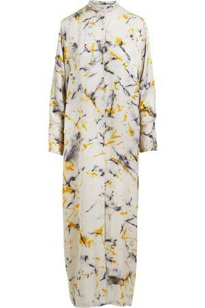 Rabens Saloner Women Tunic Dresses - ROXANNA TIE DYE HAZY KAFTAN DRESS