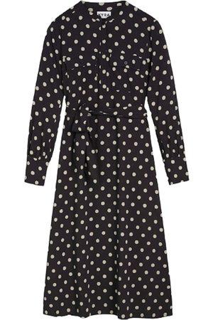 Kyra & Ko Women Dresses - Kyra tessel jurk zwart tessel-w21 900