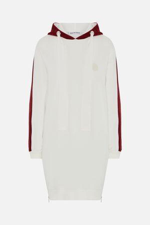 Quantum Women Hoodies - Quantum of Courage /Burgundy Hoodie Dress