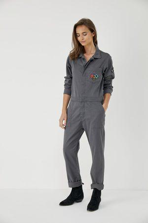 FIVE JEANS Women Jeans - ESTHER Badge Boiler Suit Carbone