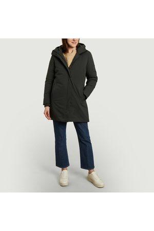 Scandinavian Edition Parka Coat Grey
