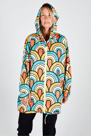 Insane In The Rain Women Rainwear - Happy Jacket in Somewhere Beyond