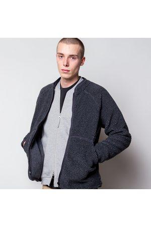 FOLK CLOTHING Puzzle Zip Fleece Slate Melange