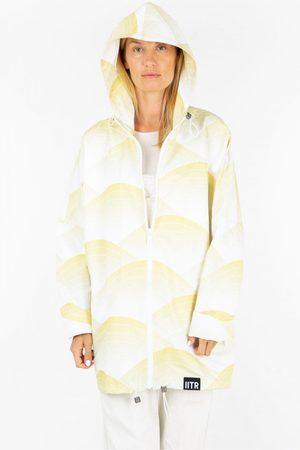 Insane In The Rain Women Rainwear - Happy Jacket in Sun Waves