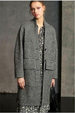 Luisa Cerano Houndstooth Coat