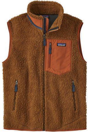 Patagonia Men Fleece Jackets - Chaleco Ms Classic Retro-X Fleece - Bear (BRBN)