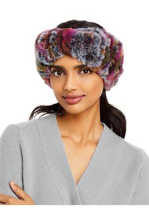 Surell Faux Fur Stretch Knit Headband