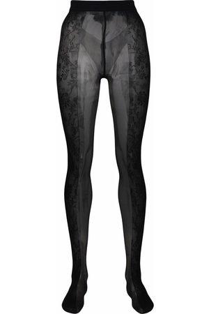 AMINA MUADDI X WALFORD Women Stockings - Amina Muaddi X Wolford Tights- Woman