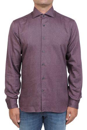 Orian Men Shirts - Shirts Bordeaux