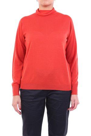 PESERICO SIGN Women High Necks - Knitwear High Neck Women Coral