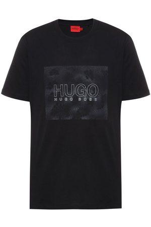 HUGO BOSS Snake Print Logo T-Shirt