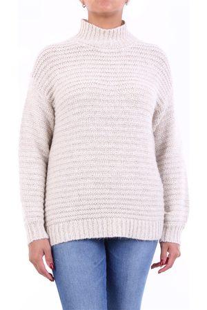 PESERICO SIGN Knitwear High Neck Women Beige