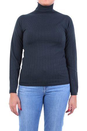 PESERICO SIGN Knitwear High Neck Women Petroleum
