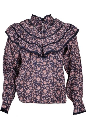 Berenice Chleo blouse blauw 13chleo21iht - bohemian