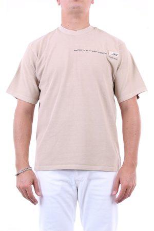 VAL KRISTOPHER Men Short Sleeve - VAL. KRISTOPHER T-shirt Short sleeve Men Beige