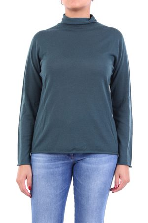 PESERICO SIGN Knitwear High Neck Women Verdone