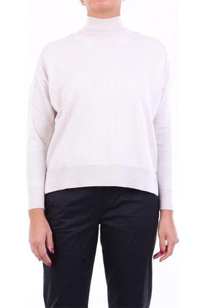 PESERICO SIGN Knitwear High Neck Women Light beige