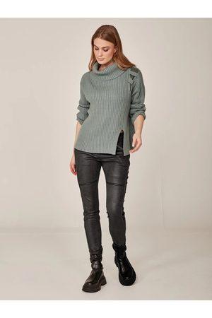 Nü by Staff Women Sweaters - Ivora Jumper-Dusty Mint Mix-696960