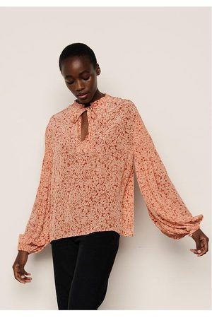 LILY AND LIONEL Lily & Lionel Stevie Balloon Slv Top Colour: Silhouette Blush, Siz