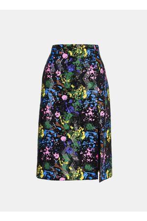 Essentiel Women Printed Skirts - Antwerp - Splash Pattern Sequined Pencil Skirt