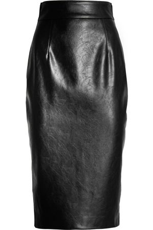 NINEMINUTES Women Pencil Skirts - THE PENCIL LEATHER