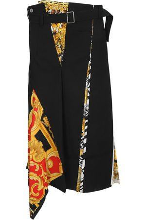 JUNYA WATANABE Women Asymmetrical Skirts - X Versace scarf asymmetric skirt