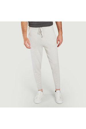 Majestic Men Slim - Slim fit jog pants Brume chin