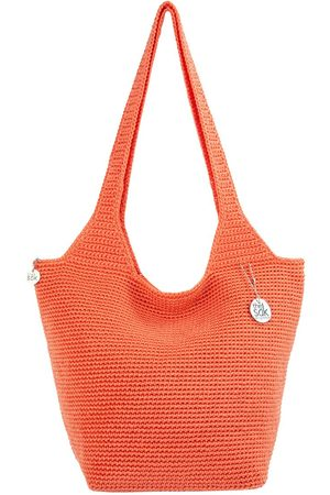 The Sak Tubular Top Zip Tote Bag
