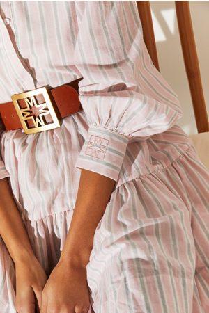 By Malina Women Belts - ICONIC BELT IN COGNAC