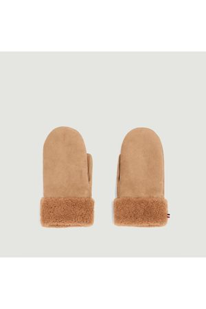 Toasties Women Gloves - Sheepskin Mittens LIGHT CAMEL