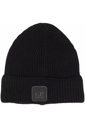 CP Company Men Beanies - C.P. COMPANY Logo Beanie Hat