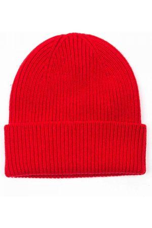 Colorful Standard Beanies - Merino Wool Beanie Hat - Scarlet