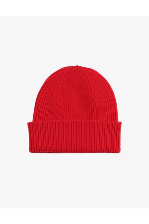 Colorful Standard Merino Wool Beanie Scarlet