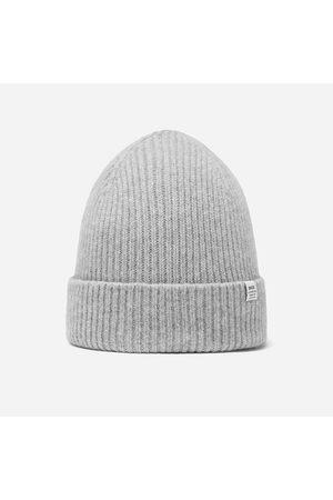 Bhode Men Beanies - Hawick Scottish Knitted Beanie Hat Light Grey