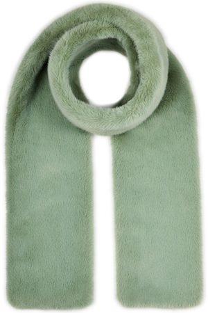 Nooki Women Scarves - Coco Faux Fur Scarf - Sage